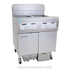 Frymaster 2FQG30U Fryer, Gas, Multiple Battery