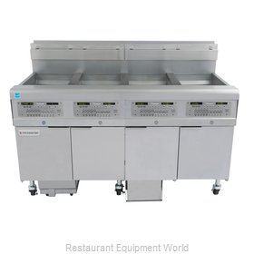 Frymaster 4FQG30U Fryer, Gas, Multiple Battery