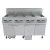 Frymaster 4FQG30U Fryer, Gas, Multiple Battery