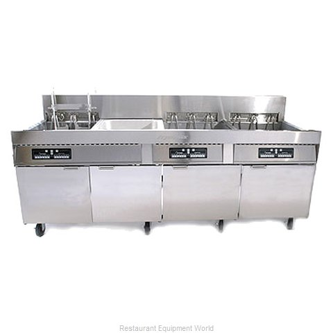 Frymaster FPC128/236S Fryer Battery Electric