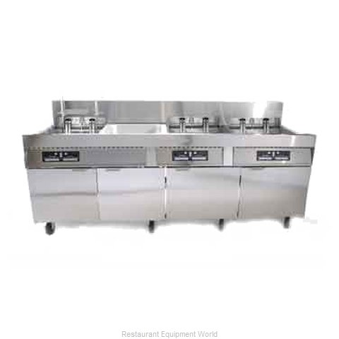 Frymaster FPC128/236SBL Fryer Battery Electric