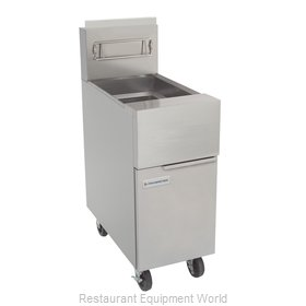 Frymaster GF40 Fryer, Gas, Floor Model, Full Pot