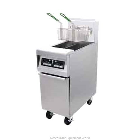 Frymaster H55-2EBL Split Pot Fryer w Basket Lifts