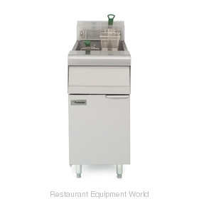 Frymaster MJ35 Fryer Floor Model Gas Full Pot