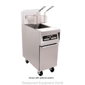 Frymaster MJ45E-2T Split Pot Fryer