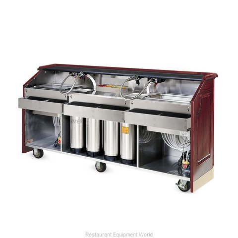 Food Warming Equipment AS-BBC-6-MW Portable Bar