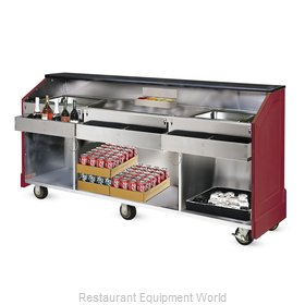 Food Warming Equipment AS-CB-8-MW Portable Bar