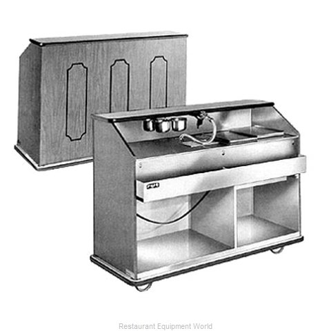 Food Warming Equipment BBC-55 Portable Bar (Magnified)