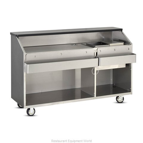 Food Warming Equipment BBC-6 Portable Bar (Magnified)
