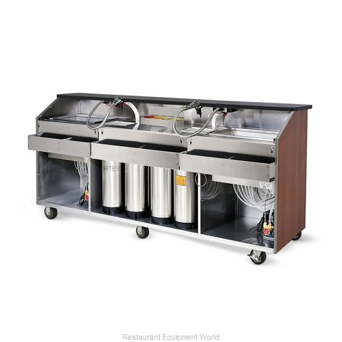 Food Warming Equipment BBC-8 Portable Bar (Magnified)