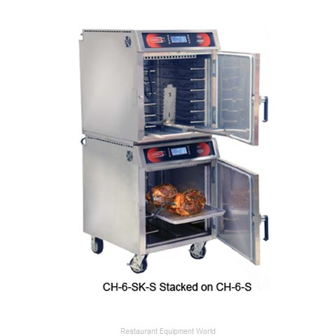 Food Warming Equipment CH-6-SK-S Oven Slow Cook Hold Cabinet Electric