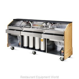 Food Warming Equipment ES-BBC-5-BW Portable Bar