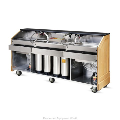 Food Warming Equipment ES-BBC-8-BW Portable Bar