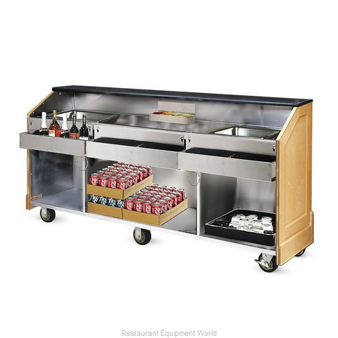Food Warming Equipment ES-CB-6-BW Portable Bar