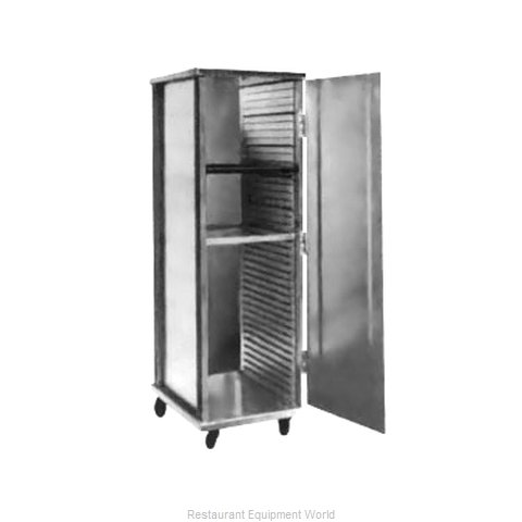 Food Warming Equipment ETC-1826-15-40 Bun Pan Rack Cabinet Mobile Enclosed