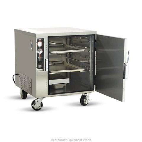 Food Warming Equipment ETC-UA-4HD Heated Cabinet, Mobile (Magnified)