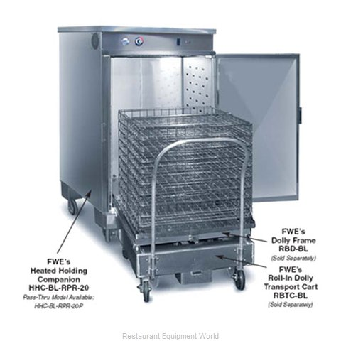 Food Warming Equipment HHC-BL-RPR-20-5 Roll-in Heated Cabinet 1 compartment