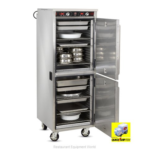 Food Warming Equipment HLC-2127-9-9 Heated Cabinet, Mobile