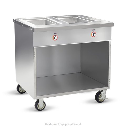Food Warming Equipment HLC-2W6-1-DRN Serving Counter, Hot Food, Electric