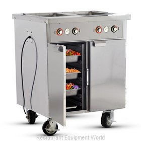 Food Warming Equipment HLC-2W6-7H-14-DRN Serving Counter, Hot Food, Electric