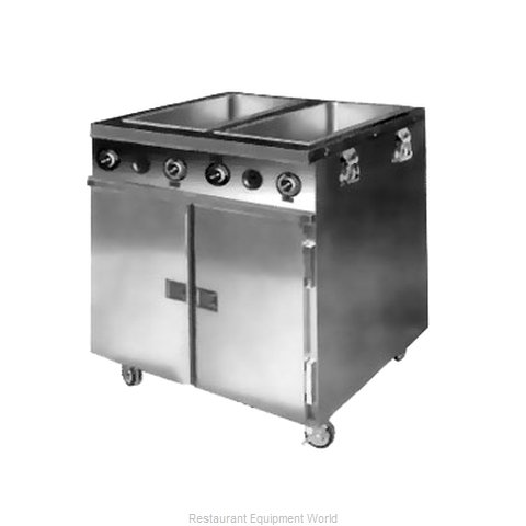 Food Warming Equipment HLC-2W6-7H-14DRN Serving Counter Hot Food Steam Table E