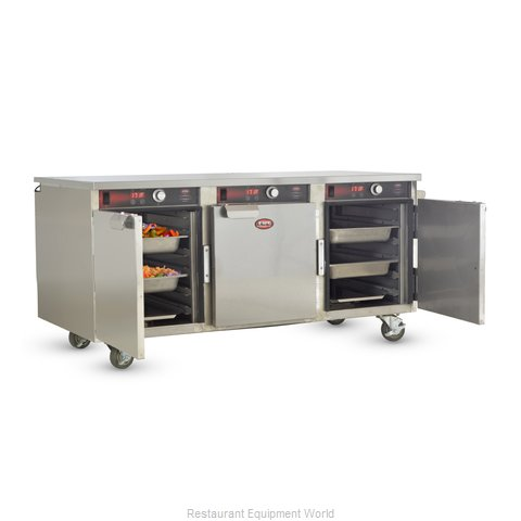 Food Warming Equipment HLC-5H-15 Heated Holding Cabinet Mobile Half-Height