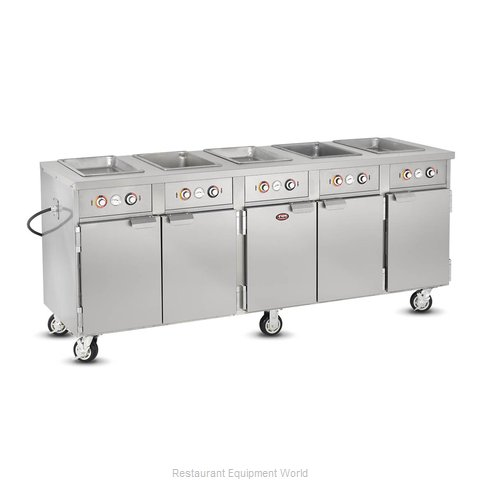 Food Warming Equipment HLC-5W6-7H-35-DRN Serving Counter, Hot Food, Electric