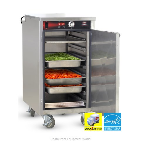Food Warming Equipment HLC-8 Heated Holding Cabinet Mobile Half-Height