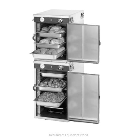 Food Warming Equipment HLC-8S Cabinet Hand Lift Catering Warmer