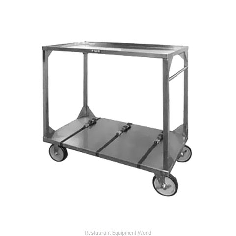 Food Warming Equipment ITT-72-104 Tray Cart, for Stacked Trays