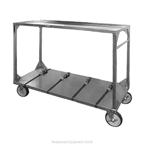Food Warming Equipment ITT-96-132 Tray Cart for Stacked Trays