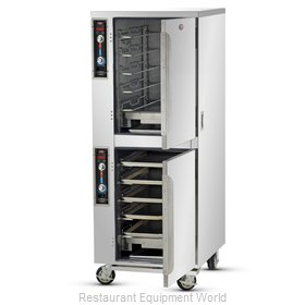Food Warming Equipment MT-1826-7-7 Heated Cabinet, Mobile