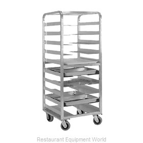 Food Warming Equipment OTR-OT-06-20 Oval Tray Storage Rack, Mobile