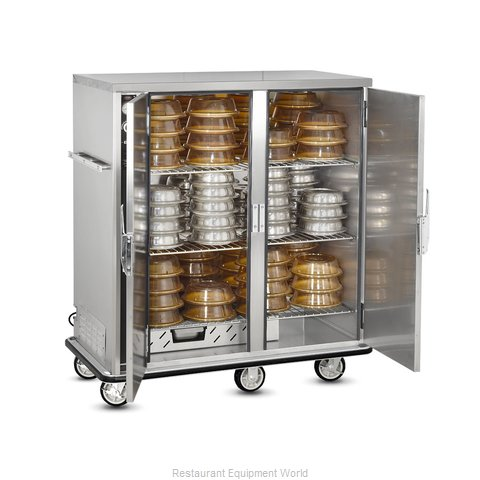 Food Warming Equipment P-120-2 Banquet Cabinet Cart Heated