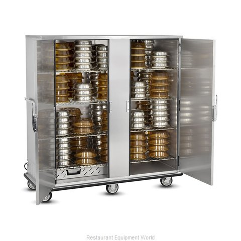 Food Warming Equipment P-200-2-XL Banquet Cabinet Cart Heated