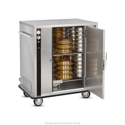 Food Warming Equipment P-72-XL Banquet Cabinet Cart Heated
