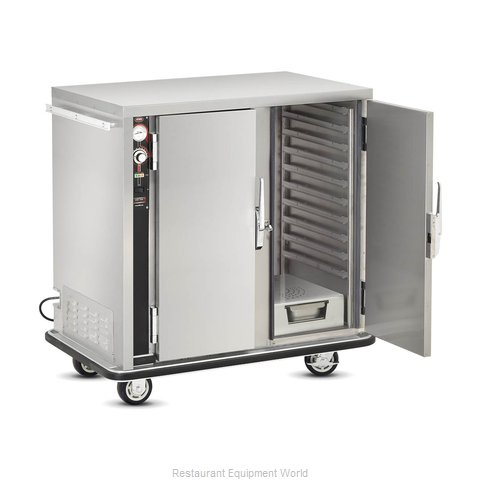 Food Warming Equipment PS-1220-20 Heated Holding Cabinet Mobile Half-Height