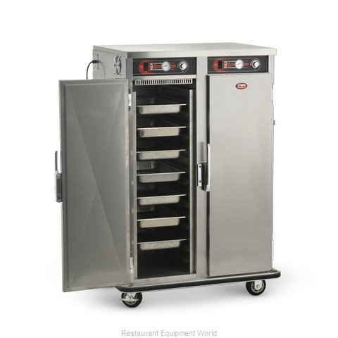 Food Warming Equipment PST-16-16 Heated Holding Cabinet Mobile