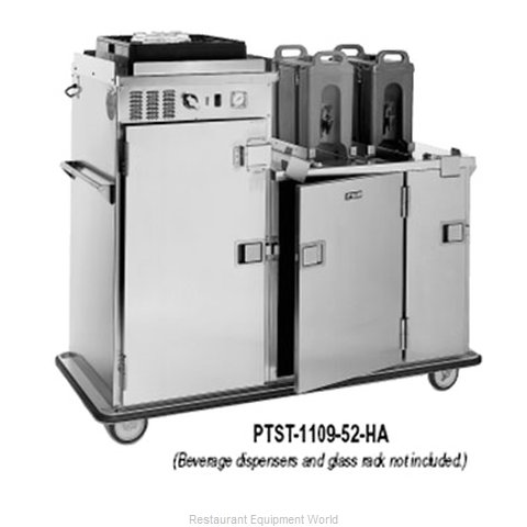 Food Warming Equipment PTST-1410-26HA Cabinet Meal Tray Delivery