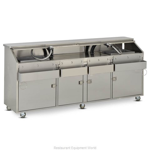 Food Warming Equipment SBBC-8 Portable Bar