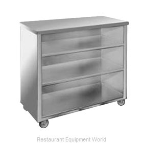 Food Warming Equipment SPSC-4 Back Bar Cabinet, Non-Refrigerated