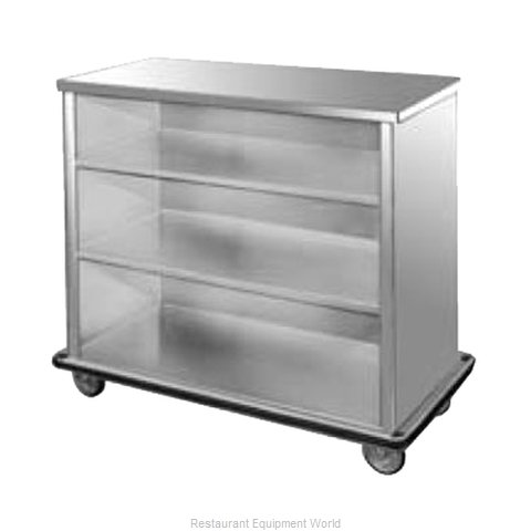 Food Warming Equipment SPSC-6 Backbar Cabinet Non-Refrigerated Mobile