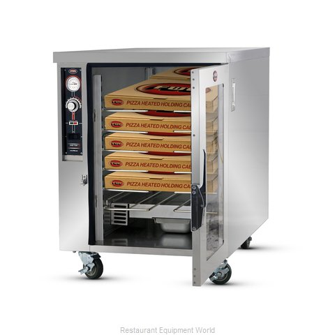 Food Warming Equipment TS-1633-14 Heated Cabinet, Mobile, Pizza