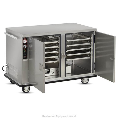 Food Warming Equipment TS-1826-14 Heated Holding Cabinet Mobile Half-Height