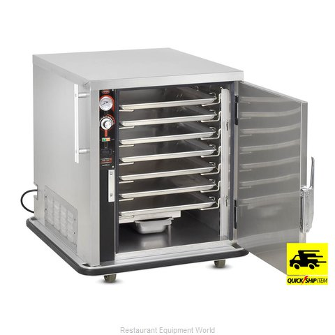 Food Warming Equipment TS-1826-7 Heated Holding Cabinet Mobile Half-Height