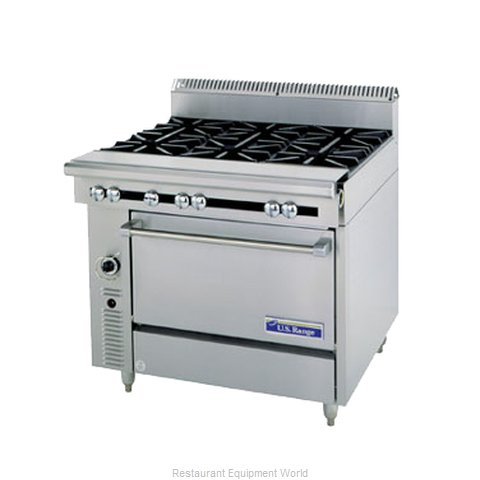 Garland / US Range C836-36ARC Range Heavy Duty Gas Charbroiler (Magnified)