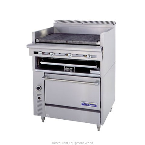Garland / US Range C836-436A Range Heavy Duty Gas Charbroiler (Magnified)