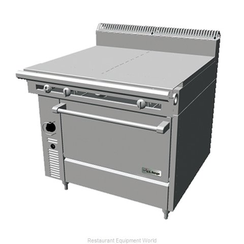 Garland / US Range C836-9 Hot Top Gas Heavy Duty Range (Magnified)