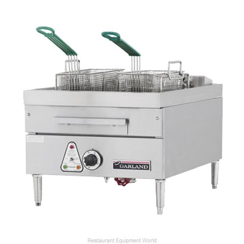Garland / US Range E24-31F Fryer Counter Unit Electric Full Pot (Magnified)