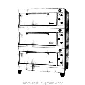 Garland / US Range E2555 Oven, Deck-Type, Electric